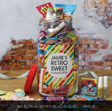 Retro Sweetie Jar (Large)